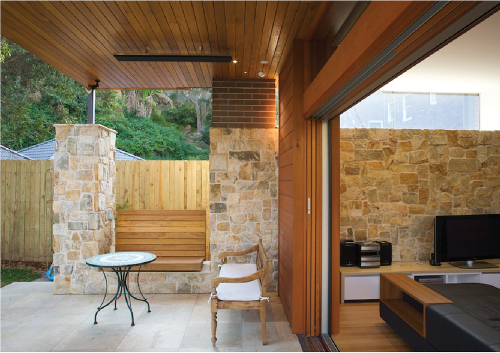 manly residence - Interwar 2 unit conversion into a 5 bedroom luxury dwelling.