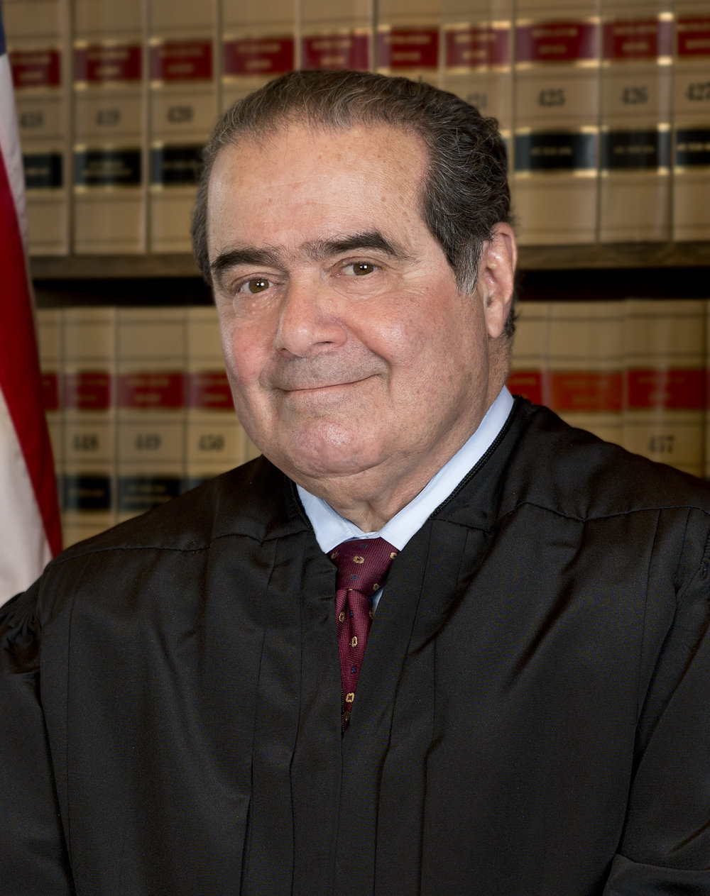 - Former Supreme Court Justice Antonin Scalia was nominated to the Supreme Court in 1986 by President Ronald Reagan and he was confirmed by the Senate by a vote of 98 to 0. Justice Scalia was a champion of originalism, the theory of constitutional interpretation that seeks to apply the understanding of those who drafted and ratified the Constitution. His death on February 13, 2017 may have been due to sleep apnea.       https://www.washingtonpost.com/news/to-your-health/wp/2016/02/24/scalia-may-have-forgotten-to-hook-himself-up-to-sleep-apnea-machine-why-that-can-be-dangerous/?utm_term=.3891eba4a345