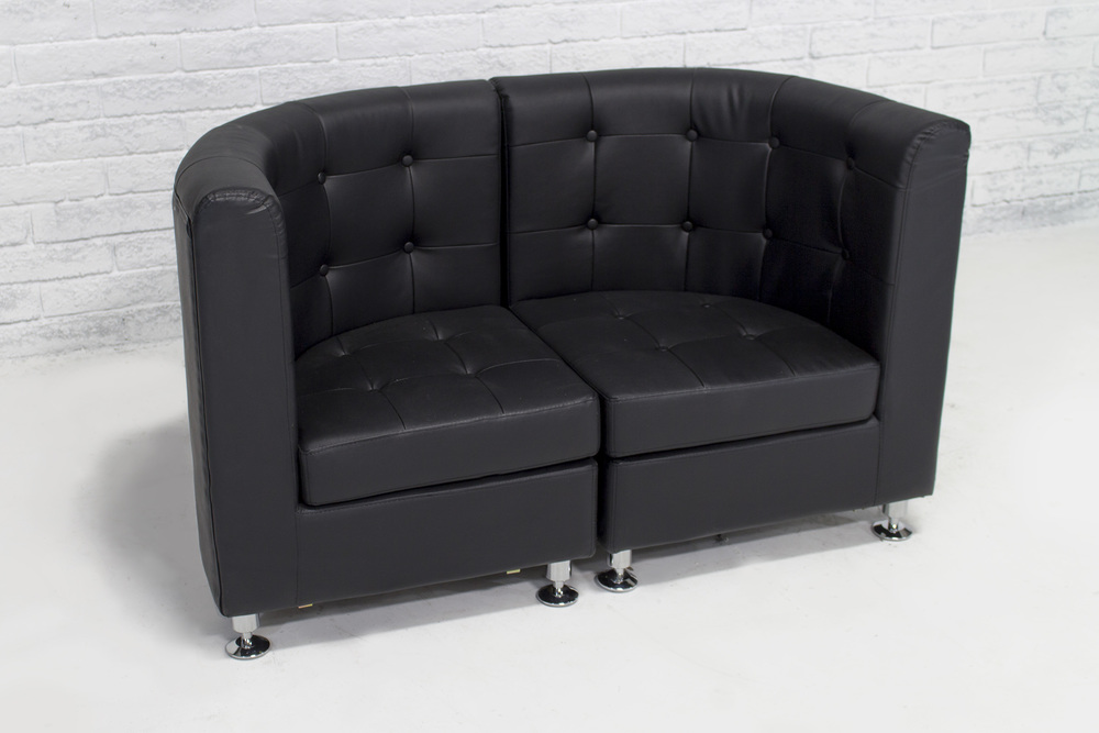 Lux Loveseat on oscar loveseat leather
