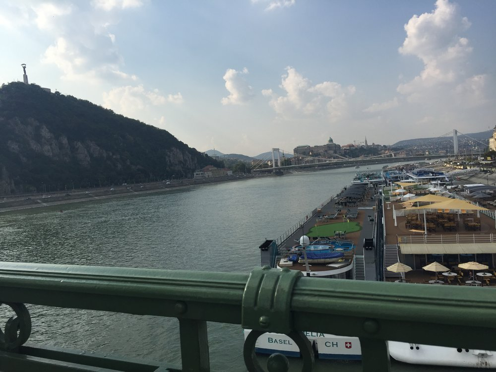 Danube River, Chain Bridge