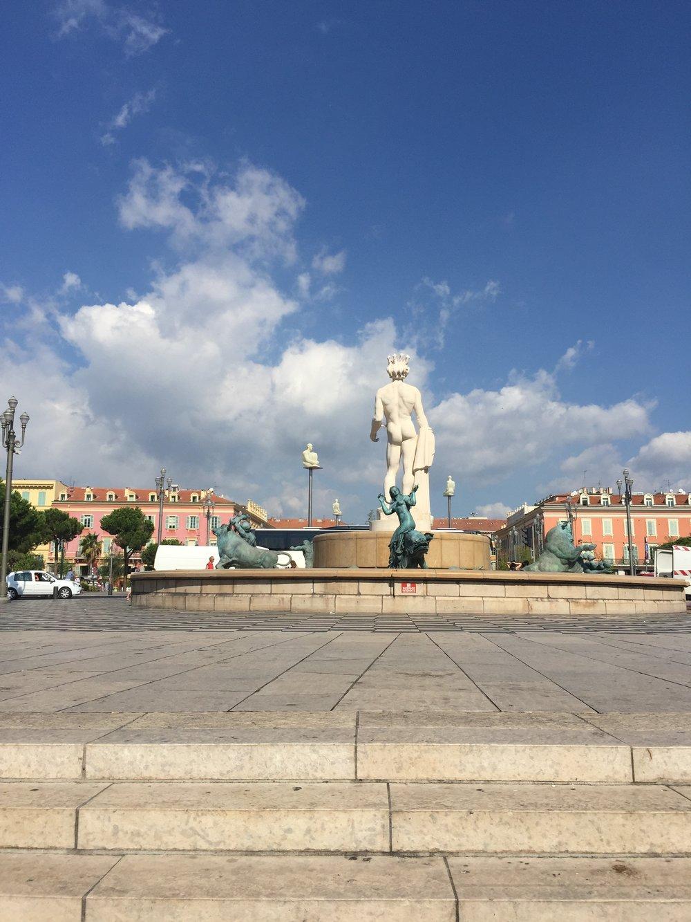 Place Massena & Place Garibaldi