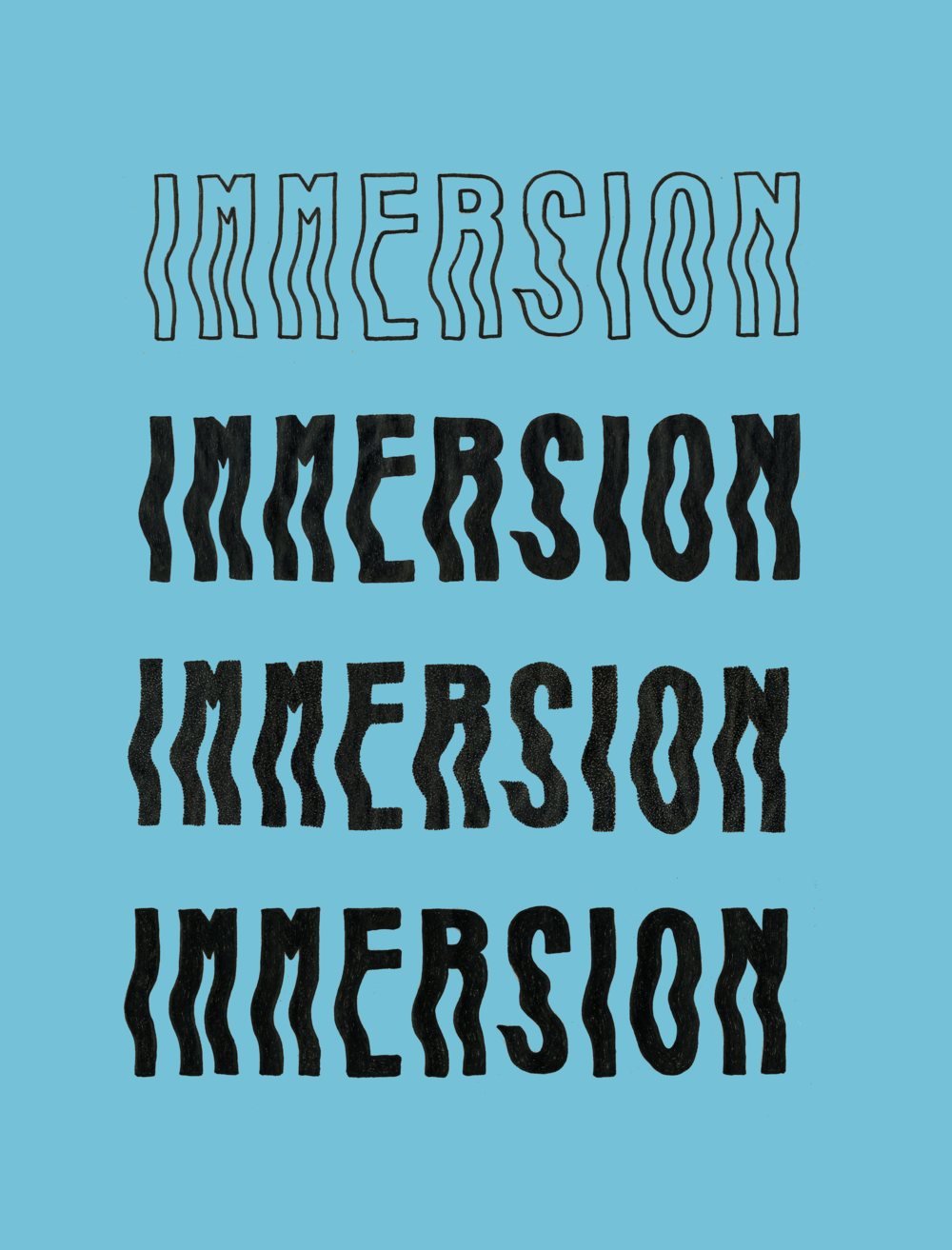 DESIGN DIRECTION     #IMMERSIONFILM Branding     MORE INFO HERE…