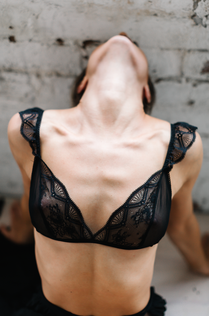 Mae's Sunday Lissome Frill Bralette - $100.00 Mae's Sunday have recently released their highly anticipated lingerie collection and it has not disappointed. The Lissome is the perfect mix of frill, lace and edgy mesh.