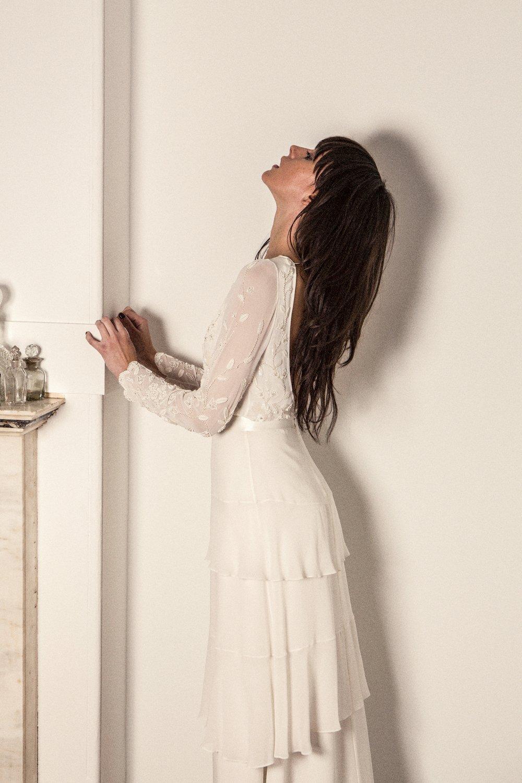 Primrose gown.