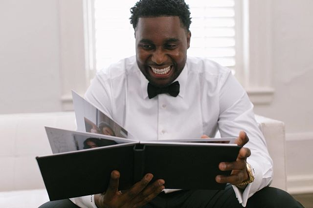 "When he realizes what getting a ""little black book"" reaaaally means 😉 #boudoir #lookatthatsmile . . . . .  #wednola #theweddinglegends #thehappynow #theknot #ohwowyes #agameoftones #artifactuprising #authenticlovemag #belovedstories #heyheyhellomay #lookslikefilm #magnoliarouge #neworleanswedding #pursuingthelove #radlovestories #weddingday #photographthepeople #destinationwedding #fearlessphotographer #destinationphotographer #elopementphotographer #travelphotographer #savannahwedding #artifactuprising #junebugweddings #weddinginspo #thatsdarling #creativehappenings"