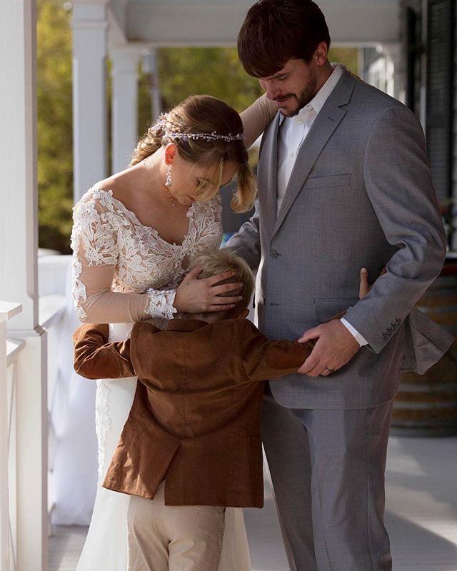 Then two became three ✌️ . . . . . #agameoftones #artifactuprising #authenticlovemag #belovedstories #elopementphotographer #lowcountrywedding #heyheyhellomay #lookslikefilm #magnoliarouge #neworleanswedding #ohwowyes #pursuingthelove #radlovestories #savannahga #theknot #thehappynow #theweddinglegends #fearlessphotographer #bohobride #weddingday #wednola #stfrancisville #weddinginspo #southernweddings #loveislove