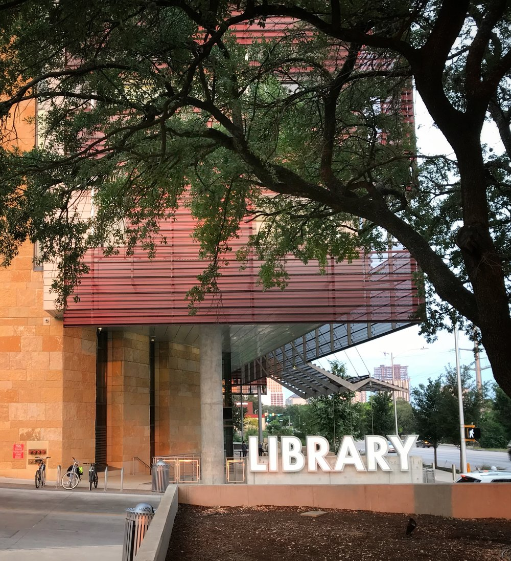AlyseLansing_AustinCentralLibrary-front