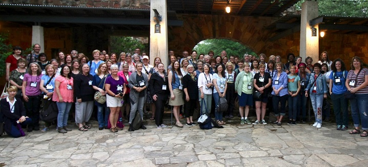 The full conference of the Garden Bloggers' Fling, 10th Anniversary, Austin TX, May 4, 2018.