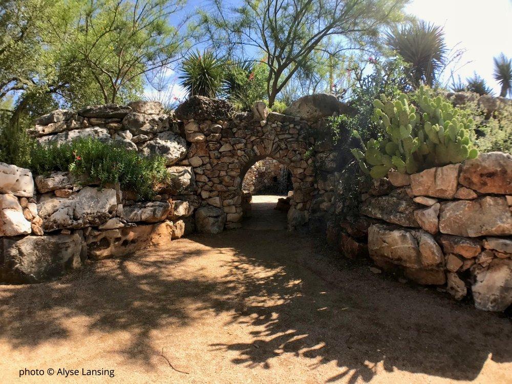 Lady Bird Johnson Wildflower Center grotto tunnel_AlyseLansing.jpg