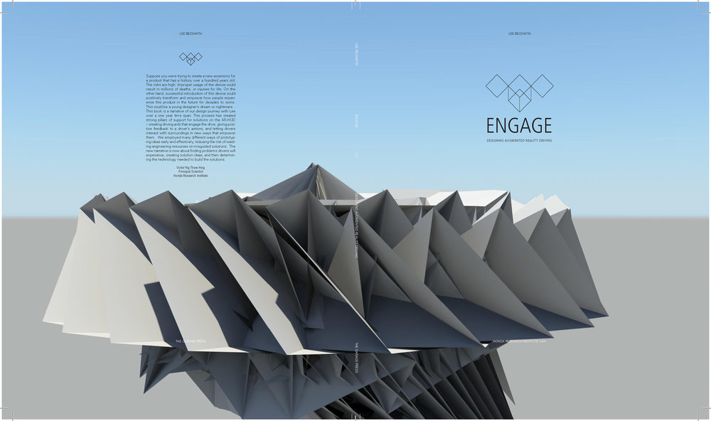 """engage"" designing augmented reality driving: book design"