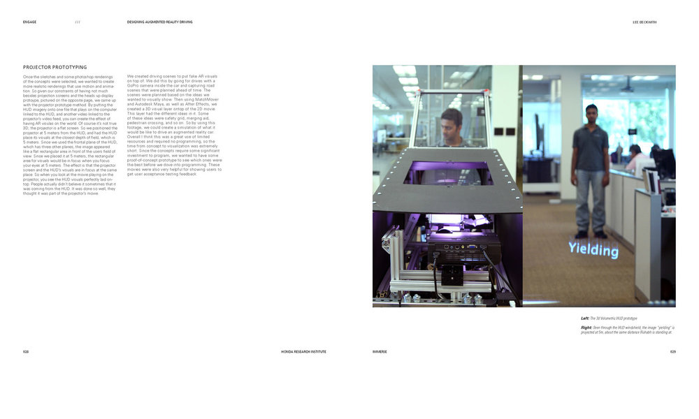 Pages from Engage: The AR Car Prototype
