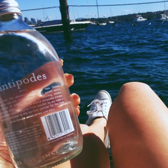 Not long until another balmy Sydney weekend 💛 regram @antipodes_water #healthy #active #balance #water #replenish #outdoors #revitalise #sydney #spring #antipodes