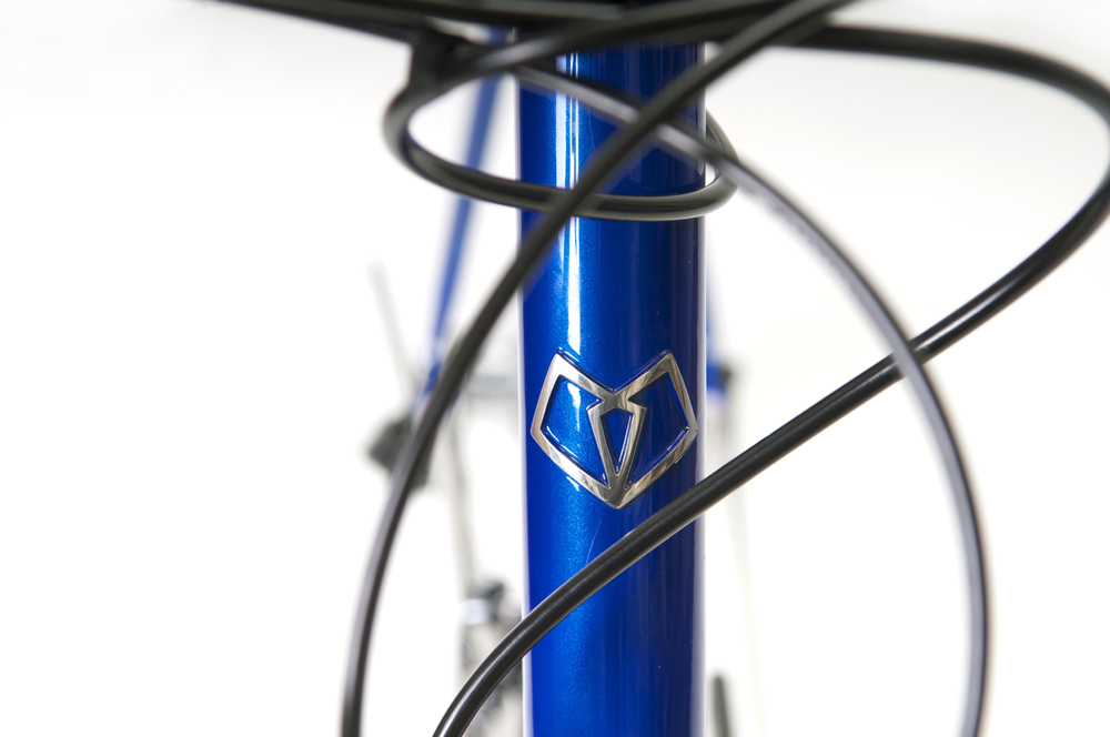 Peters Road Bike with mirror polished Hartley Cycles head badge