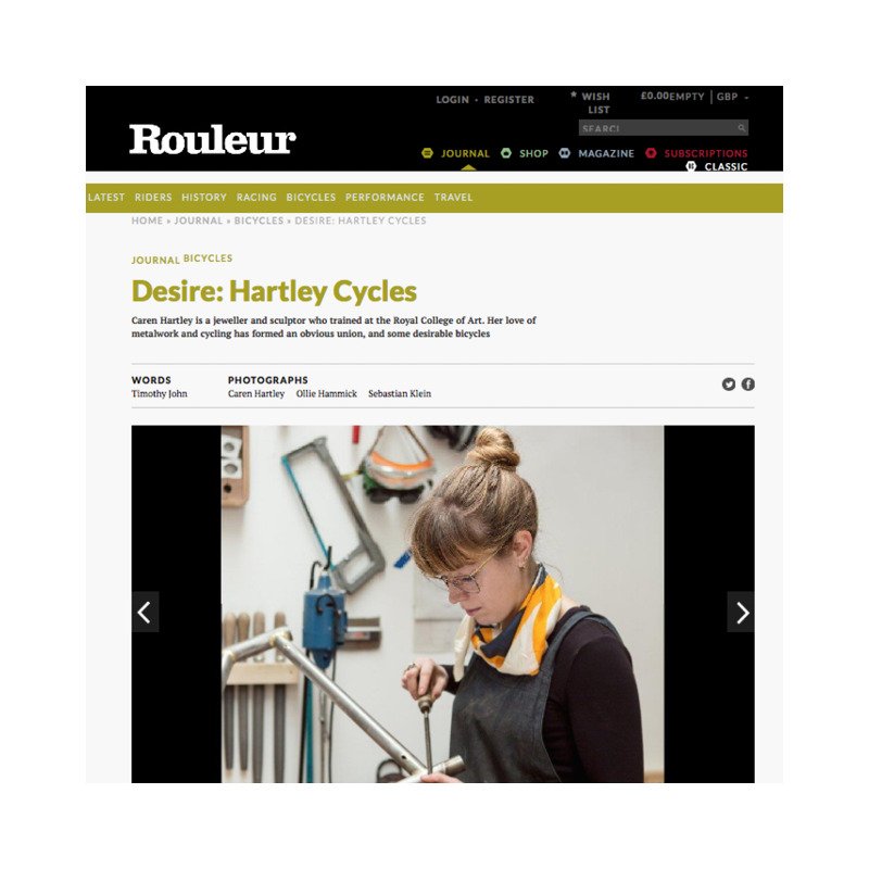 Rouleur   Hartley Cycles