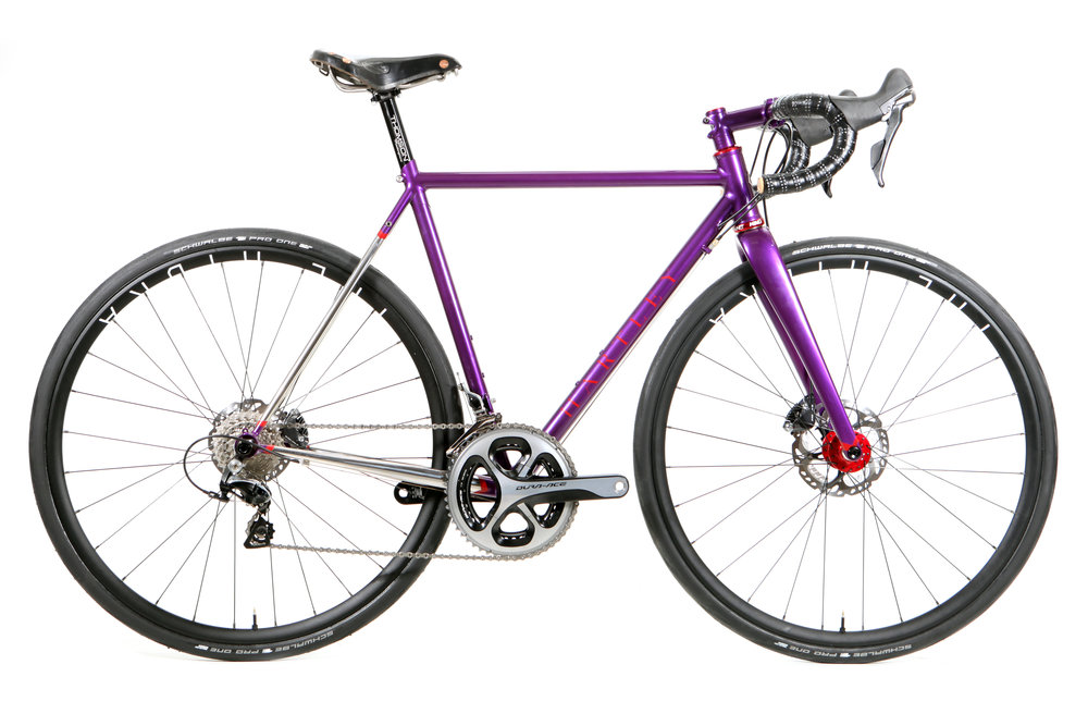 Elles Purple One Road/Light Touring Bike