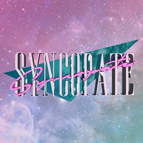 3D logo I knocked up for Syncopate as part of a larger project 👀  #Syncopate #3dart #vicecity #graphicdesign #vaporwave #blender #galaxy #aesthetic