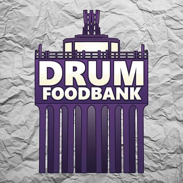 Another day another logo signed off, this one is for Drumchapel Food Bank, the only independent food bank in the U.K.  #DrumFoodbank #DrumchapelFoodbank #foodbank #drumchapel #logo #graphic #watertower #graphicdesign #illustration #scotland