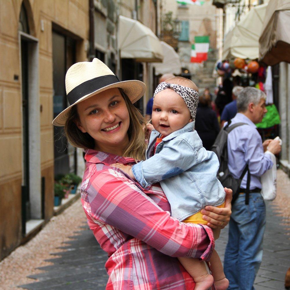 Nós duas no melhor lugar da Europa para férias: a Itália!