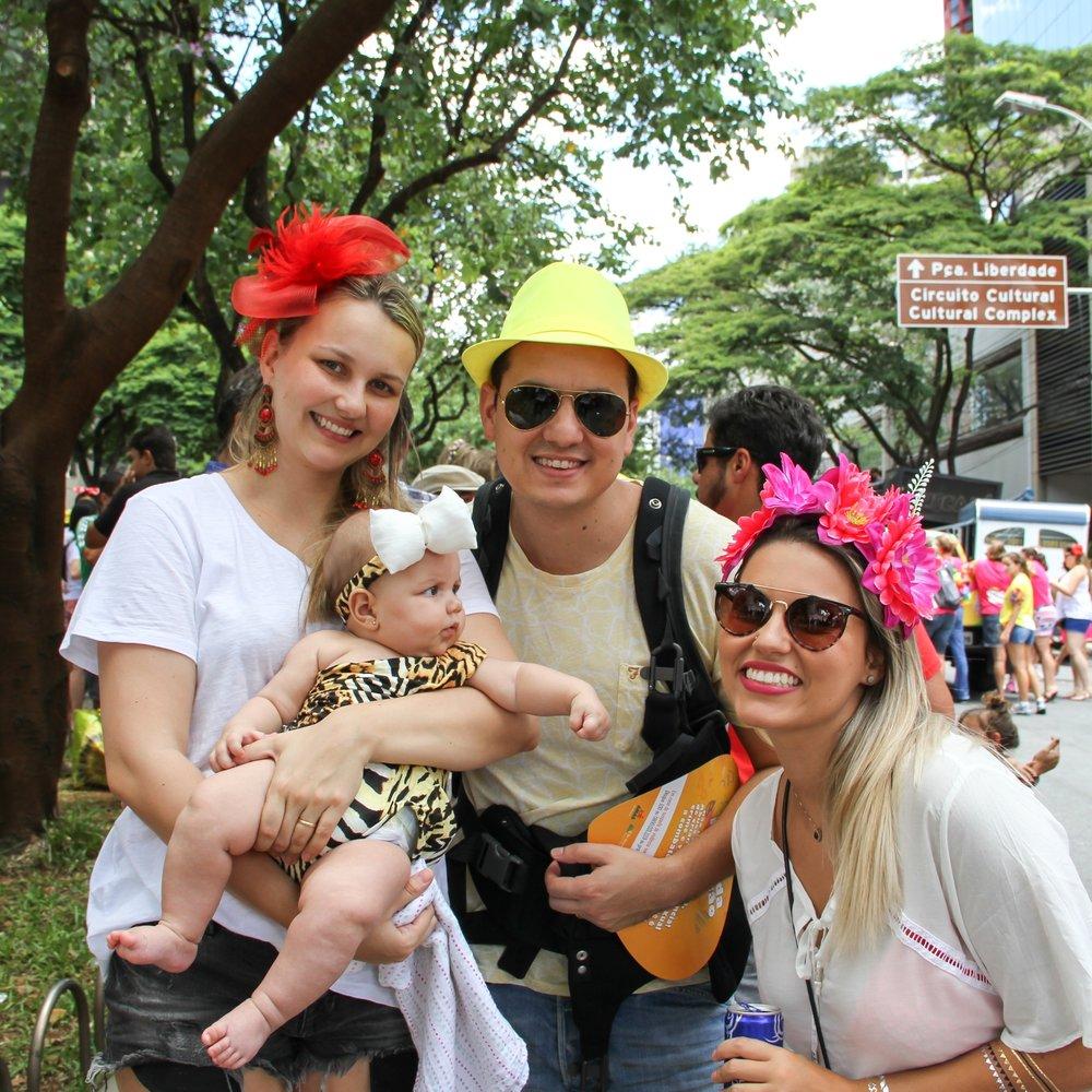 Aproveitando o carnaval