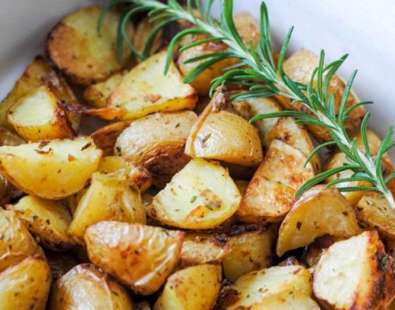 La Dolce Pita's Roast Potatoes