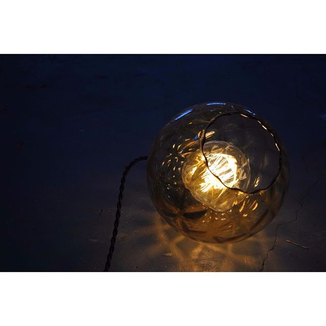 This Beauty. Style #44  #productdesign #design #lighting #light #lightingdesign #londondesign #designermaker #workshop #pendant #glass #interiors #inspiration #retro #trend #vintage #shadow #lightplay #shadowplay #1970s #1980s #glass