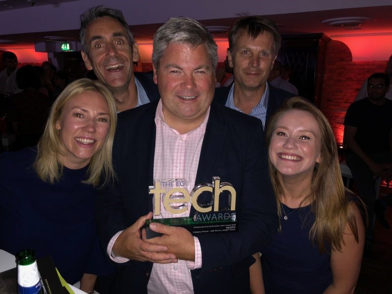 VU.CITY wins the Infrastructure and Construction Tech Award at the inaugural EG Tech Awards.  EG has launched an exciting new set of awards to celebrate the best in all things tech. The EG Tech Awards will celebrate both the tech firms powering the digital innovation taking place in the real estate sector and the property firms that are working hard on their own transformations.  VU.CITY is the largest, most accurate digital model of London. The 700 sq km model, created by our founders,  Wagstaffs  and  GIA , is constantly growing and being updated with new planning consents.  Cities covered to date are London, Belfast, Birmingham, Manchester, Oxford and parts of Brighton.