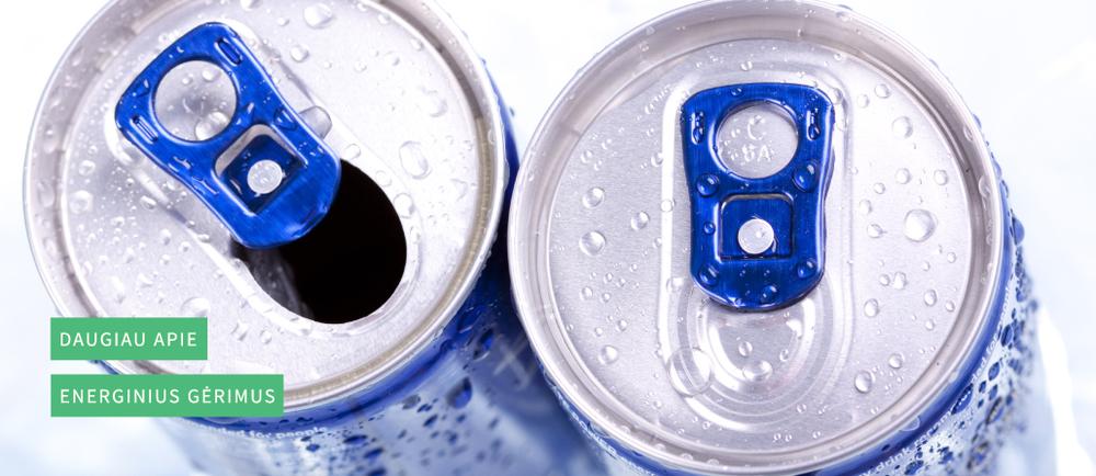 Apie energinius gėrimus