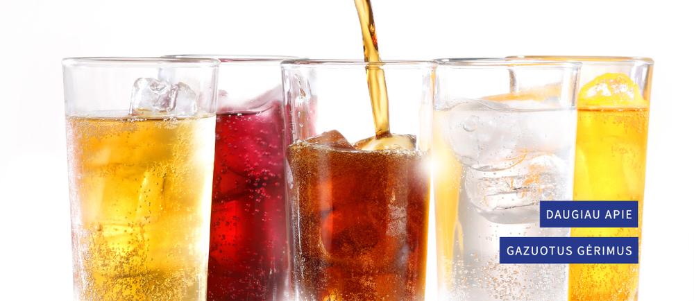 Apie gazuotus gėrimus