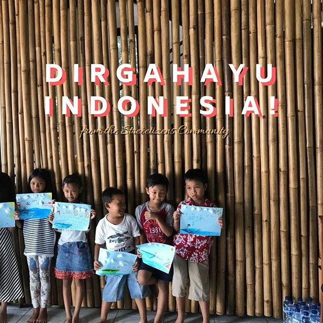 Kami dari Streetizens ingin mengucapkan, Selamat Hari Kemerdekaan! Dirgahayu Republik Indonesia 🇮🇩