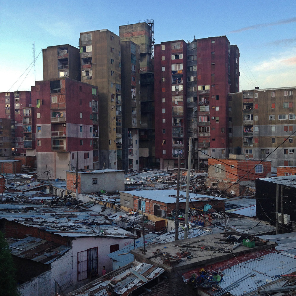 """View of the neighborhood """"Fuerte Apache,"""" Buenos Aires, Argentina. © Christian Rodriguez"""