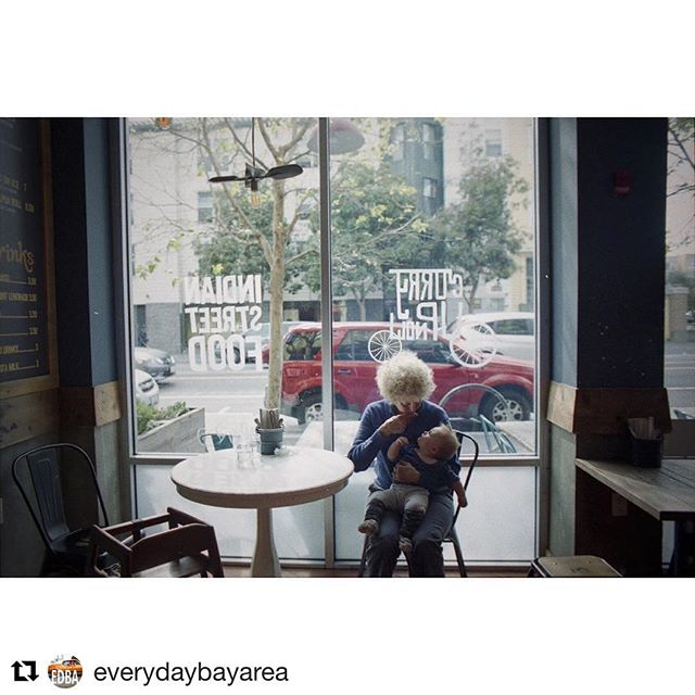 #repost A sweet moment in time captured by our friends at @everydaybayarea . #Repost @everydaybayarea ・・・ A great-aunt and her grandniece at the Curry Up Now in the Mission, San Francisco. #everydaybayarea #missiondistrict #sanfrancisco #catchlighteveryday #everydayeverywhere  @taliaherman1