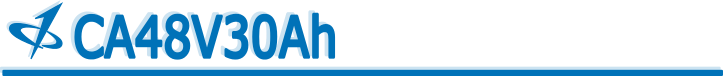 CALB USA Inc. 48V30Ah Banner