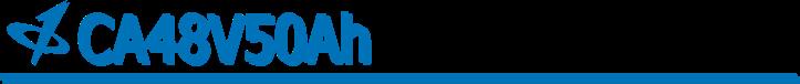 CALB USA Inc. 48V50Ah Banner