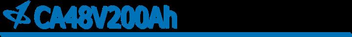 CALB USA Inc. 48V200Ah Banner