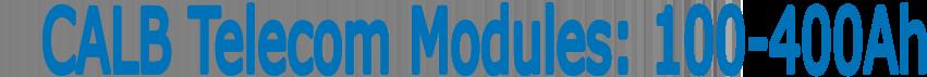 CALB USA Inc.Telecom Banner 2