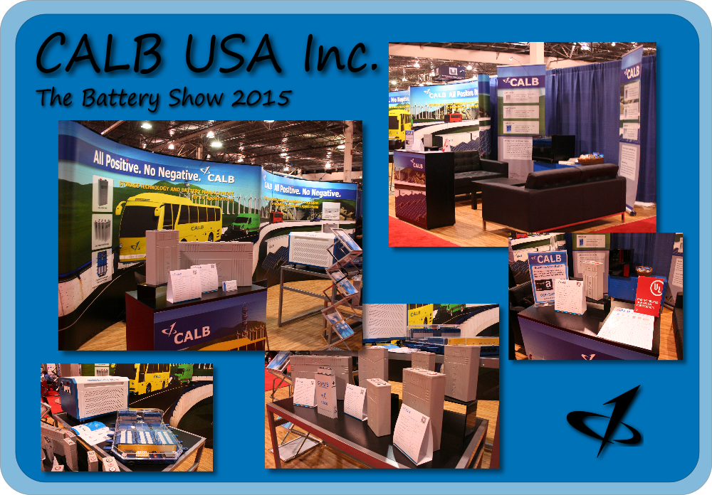 CALB USA Inc. The Battery Show 2015 Exhibit