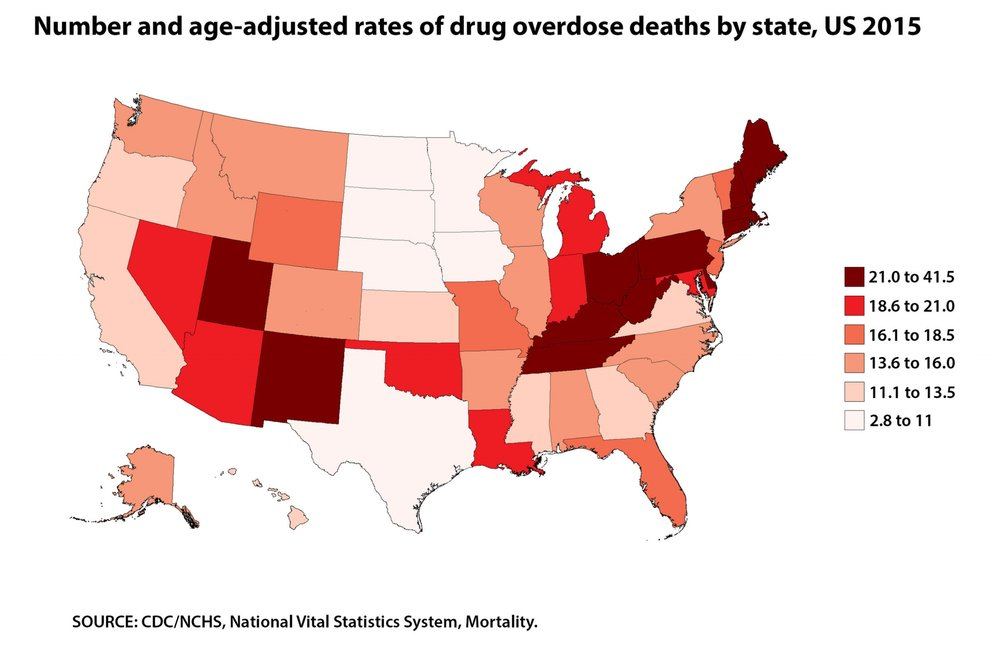 Ohio leads the nation in opioid-related overdose deaths.