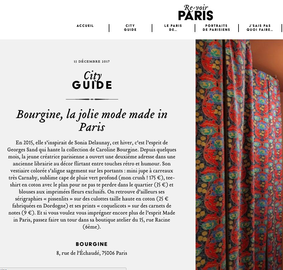 Re-voir Paris - Décembre 2017