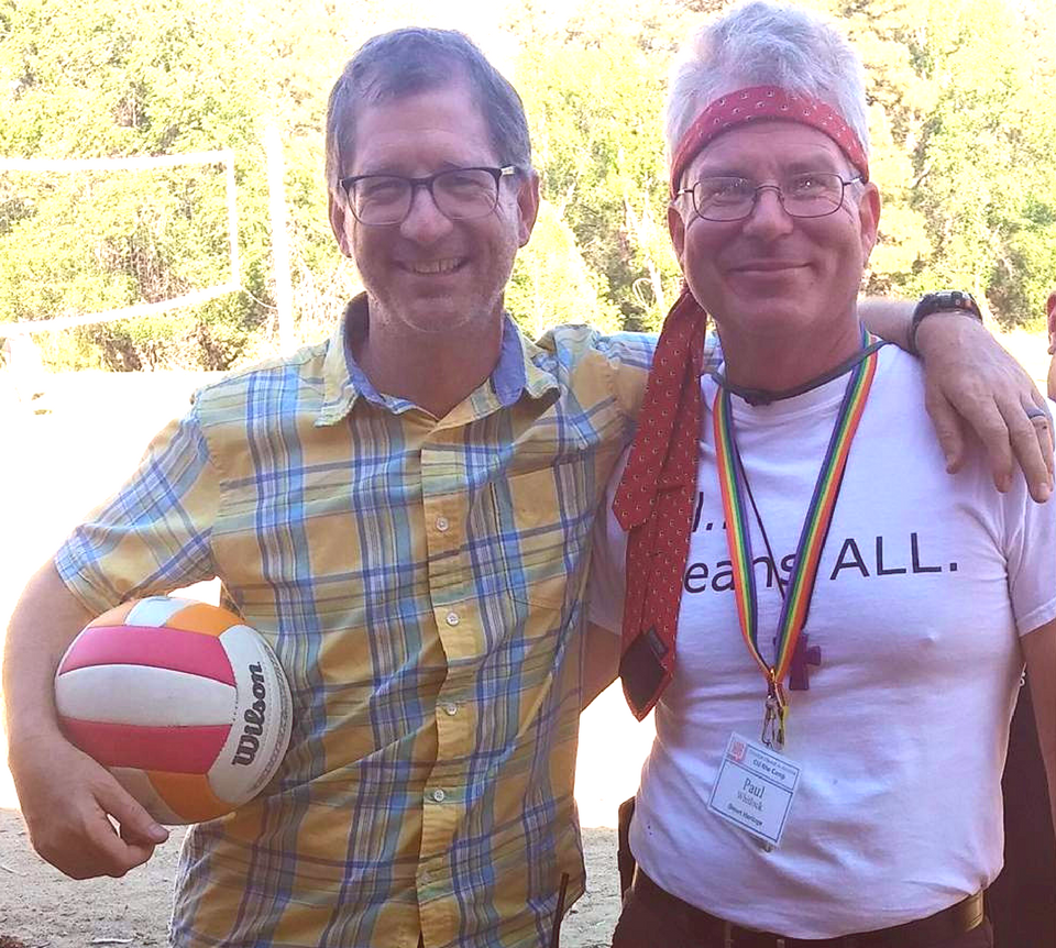 2015 camp - Rev. Dr. John C. Dorhauer and Rev. Paul Whitlock