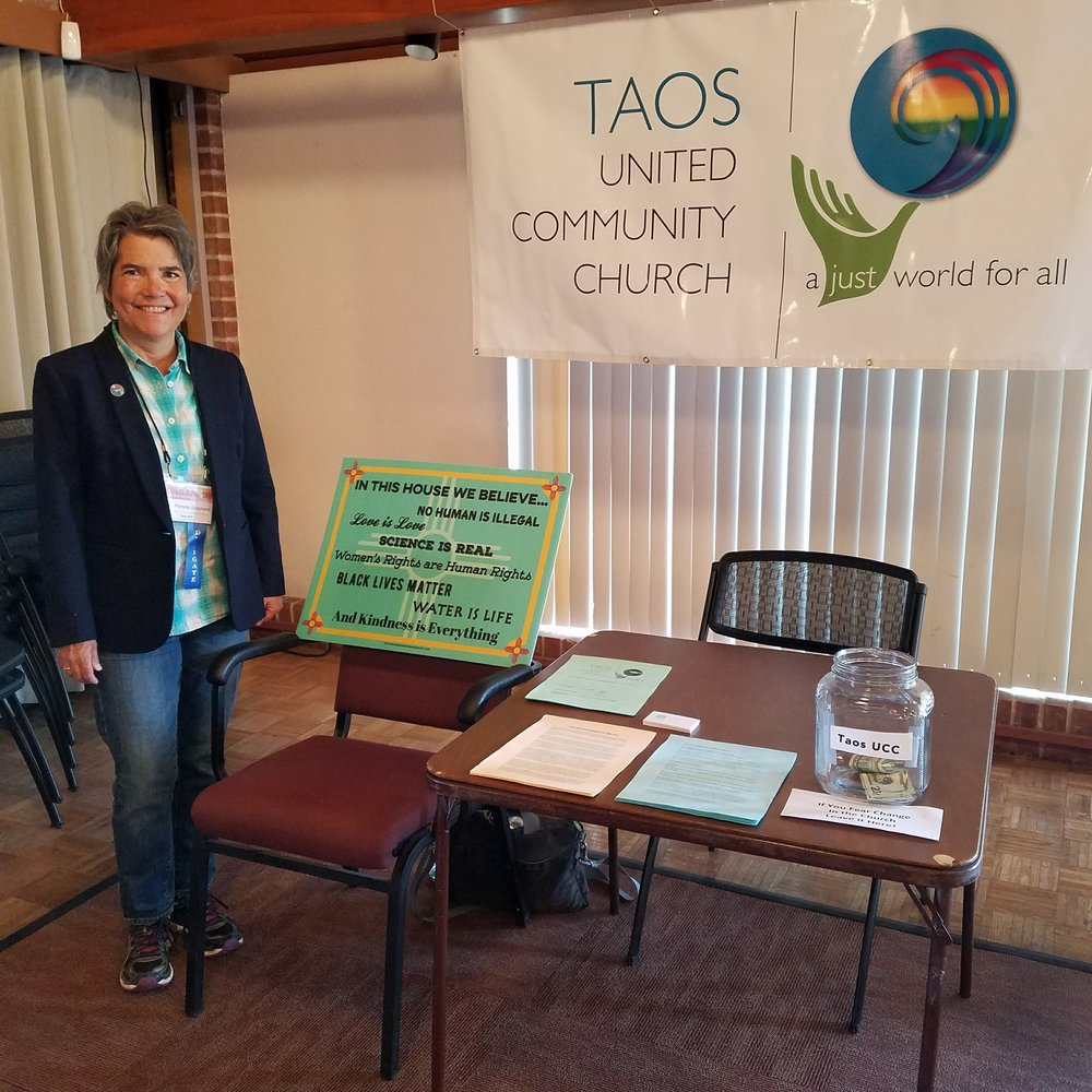 taos ucc table at AM 2018.jpg