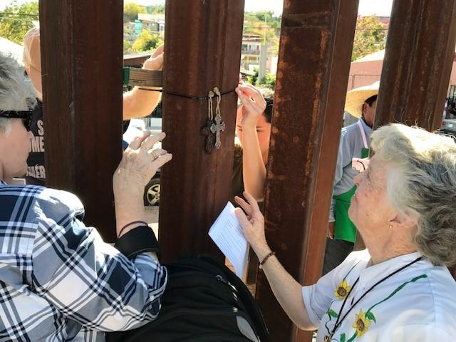 GSUCC Saying prayers across the border.jpg
