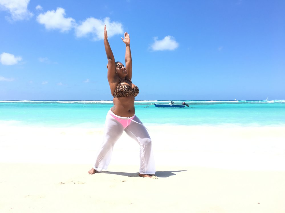 "Courtney K. - Brooklyn, NY | Cayman 2015 + Barbados 2016   ""The Fitness + Foolishness retreat was such an amazing experience. Even after coming back to the City, I still feel super zen, refreshed and motivated to keep myself active! Can't wait for the next trip."" - Cayman  ""My second trip was just as amazing as the first! The added Abs + Beach Burn Cardio sessions were a great addition! Fitness + Foolishness addict."" - Barbados"