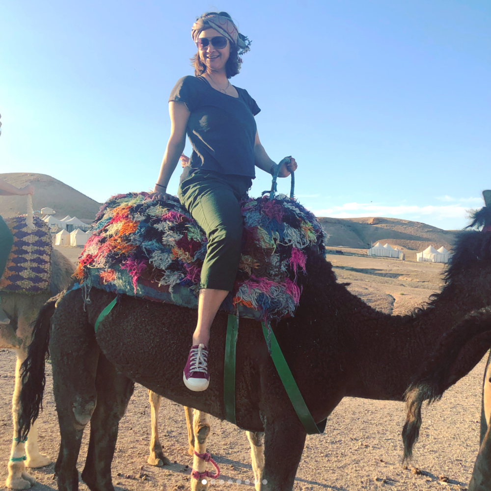 "Liza - Brooklyn, NY | Morocco 2018 + Bali 2017   The Fitness + Foolishness adventure retreats are the best! Nicole and Marisa make an enormous effort to provide beautiful accommodations and unique excursions with a ""side dish"" of fun exercise classes. This is a touring company that will not only show you the ""must-see"" tourist attractions, but also enable you to experience some of the beautiful cultural traditions of the country. Perhaps most importantly is the open and welcoming attitude of everyone on the trip, which is a testament to Marisa and Nicole's infectious warmth and enthusiasm. I've been on two trips with them and I can't wait to join another one!"