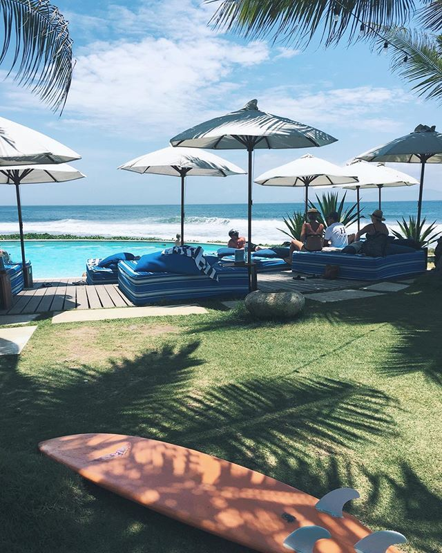 #wanderlustwednesday Prepping for our next Bali retreat. Can't wait to go back to this view! Bonus if you are a 🏄🏽‍♀️, the resort is on a world class break. Coming?