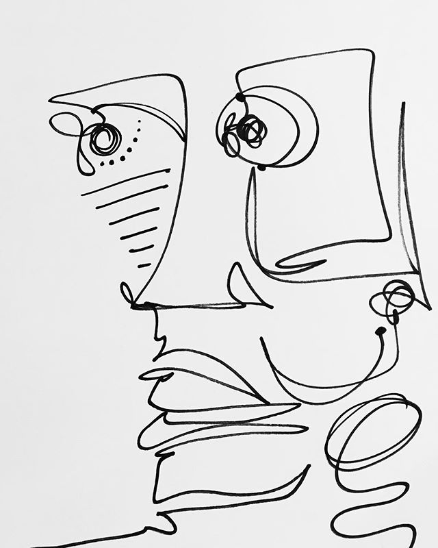 #drawing #face #lineart #art #pen #abstractart #abstract