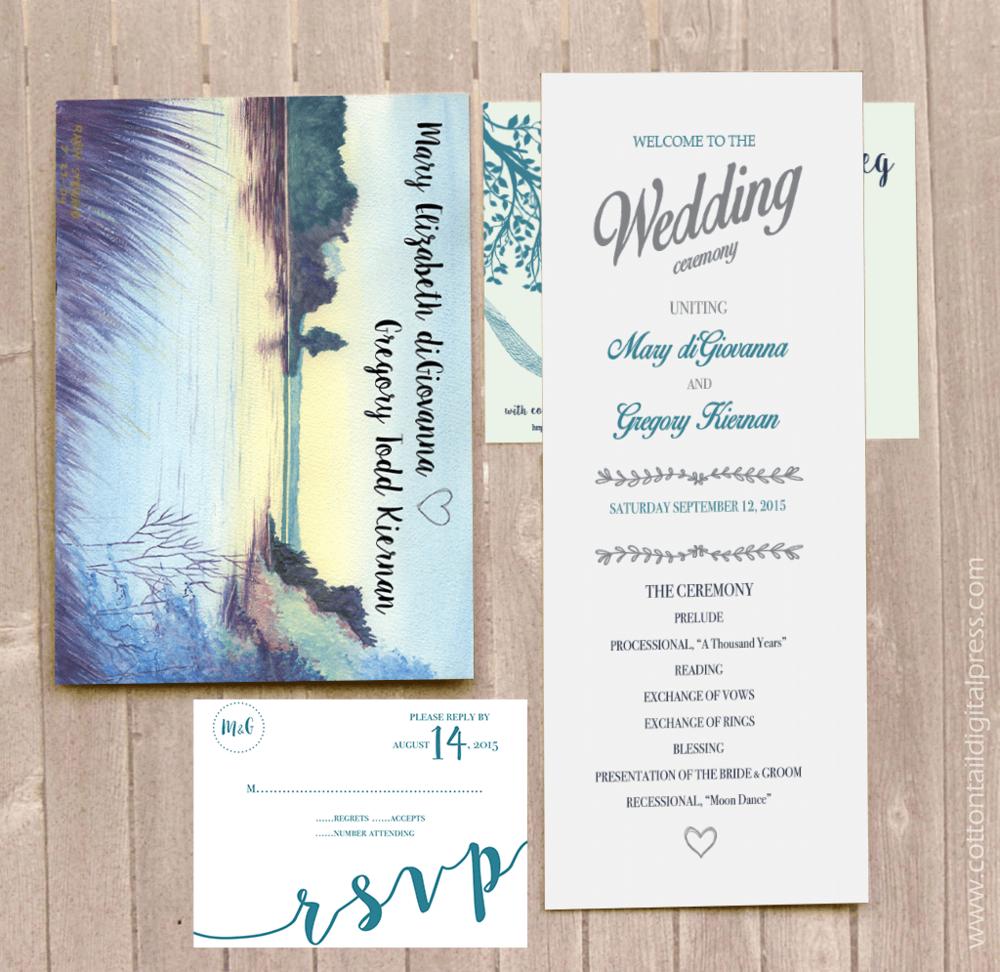 Kiernan Family Wedding Design, 9.12.15