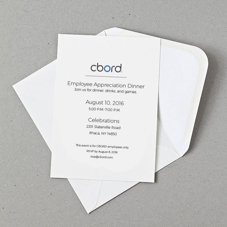 CBORD Corporate Invitation