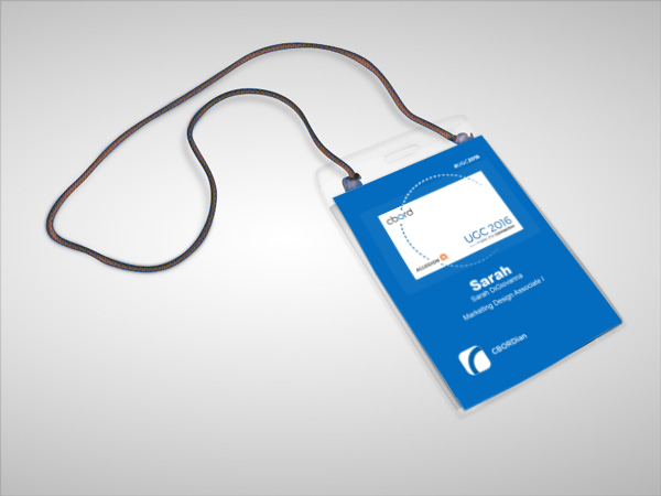 CBORD's 2016 User Group Conference Employee Name Badges