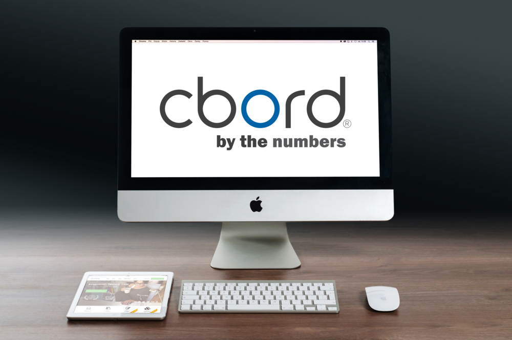 CBORD By The Numbers Technology and Senior Living Infographic