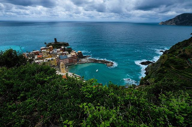 I'm editing pictures today of our time in the Cinque Terre and will be posting to my blog about our time there. Vernazza from the hilltop presented one of the most stunning views we encountered on our entire trip.